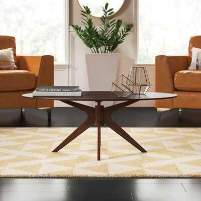 Pedestal Coffee Table - Wayfair