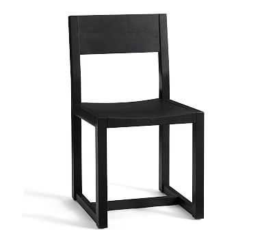 Reed Dining Chair, Warm Black - Pottery Barn