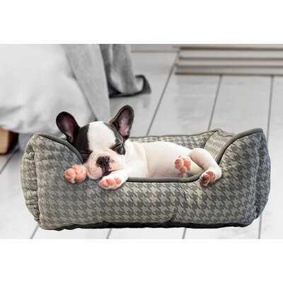 Gore Cozy Fleece with Canvas Cuddler Pet Bed - Wayfair