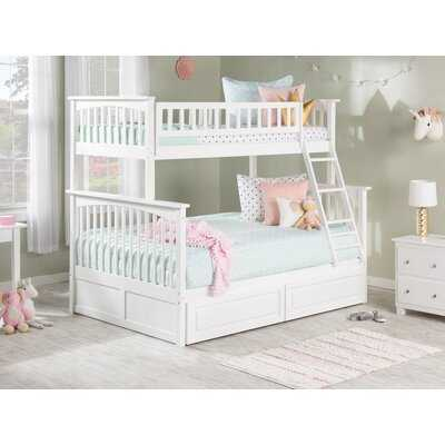 Henry Bunk Bed with Storage (Converts to twin beds) - Wayfair