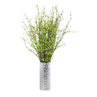 Faux Grass in Decorative Vase - Wayfair