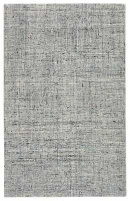 Macklin Handmade Solid Light Blue/ Gray Area Rug (8'X10') - Collective Weavers