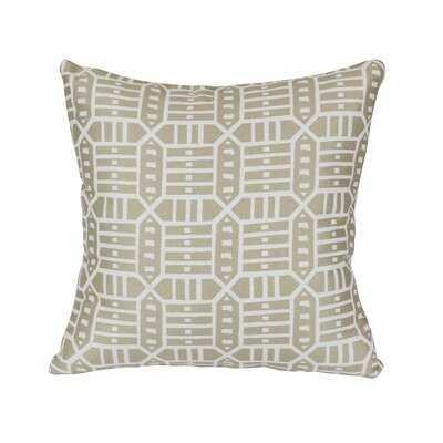 """Daughtery Indoor / Outdoor Ikat 24"""" Throw Pillow Cover - Wayfair"""