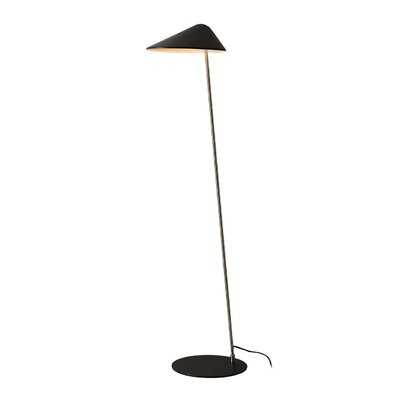 Ibis Floor Lamp, Satin Nickel - AllModern