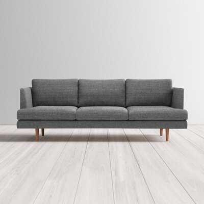 "Reanna Polyester Blend 84"" Recessed Arm Sofa - AllModern"