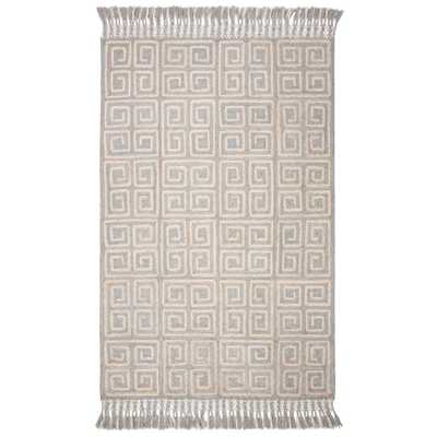 Safavieh Sahara Gray/Beige 6 ft. x 9 ft. Area Rug - Home Depot