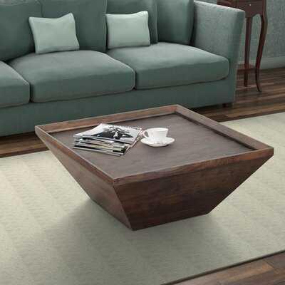 Henriette Solid Wood Coffee Table - Wayfair