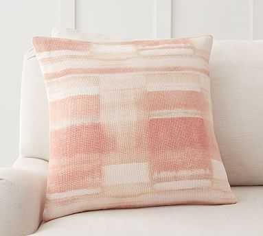 "Medora Printed Pillow Cover, 20 x 20"", Blush Multi - Pottery Barn"