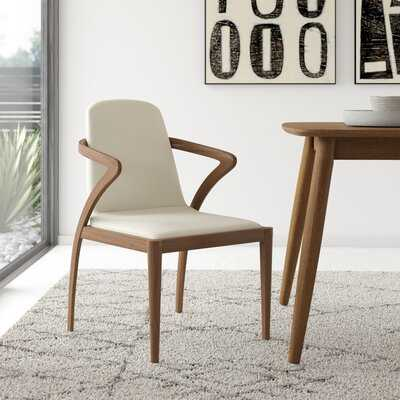 Mora Solid Wood Upholstered Dining Chair - AllModern