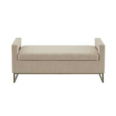 Pelton Upholstered Storage Bench - AllModern