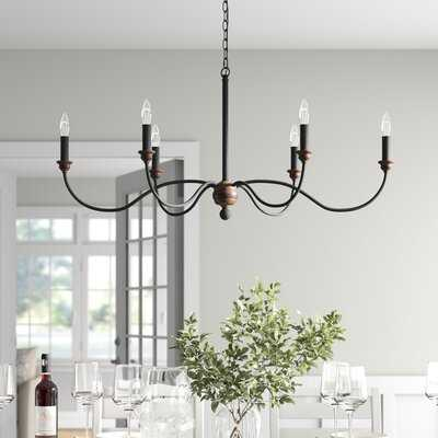 Paulina 6-Light Candle Style Chandelier - Birch Lane