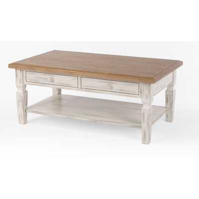 Edenboro Solid Wood Coffee Table - Wayfair