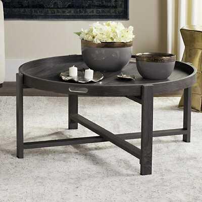 Casady Coffee Table with Tray Top - Wayfair