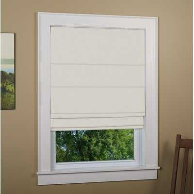 Kilby Blackout Roman Shade - Birch Lane