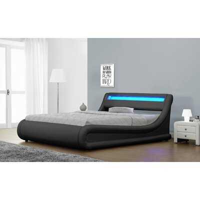 Queenscliff  Faux Leather Upholstered Storage Platform Bed - Wayfair