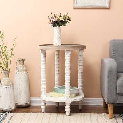 Ozella Solid Wood End Table with Storage - Wayfair