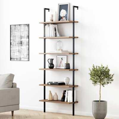 "Zachary 85"" H x 30"" W Metal Ladder Bookcase RESTOCK Back in Stock Feb 18, 2021. - Wayfair"
