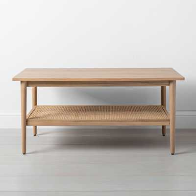 Wood & Cane Coffee Table - Hearth & Hand with Magnolia - Target