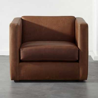 Club Leather Chair - CB2