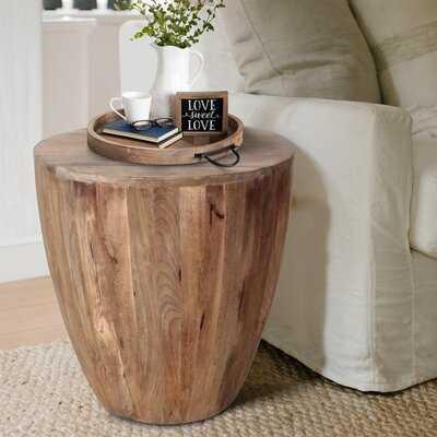 Kitterman Solid Wood Block End Table - Wayfair
