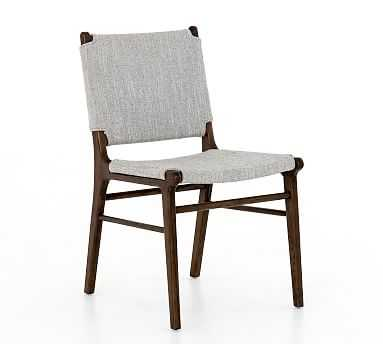 Bushbury Dining Chair, Manor Gray, Almond - Pottery Barn