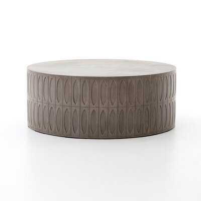 Blayze Stone/Concrete Coffee Table - AllModern