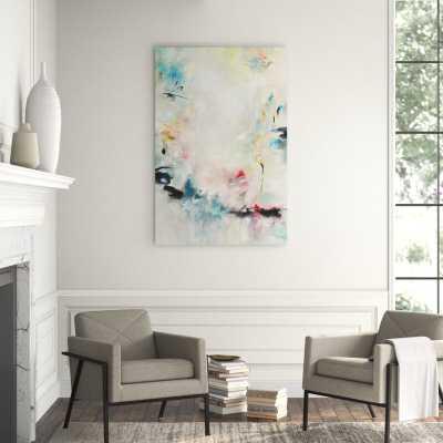 """Chelsea Art Studio 'Elle est à Moi' Graphic Art Print Format: Outdoor, Size: 60"""" H x 40"""" W - Perigold"""
