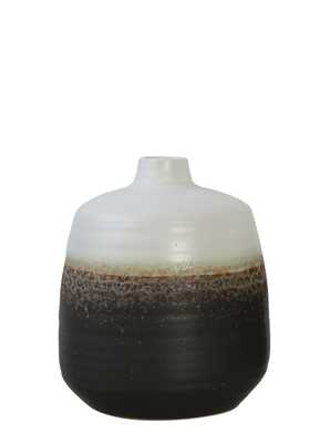 Solomon Ceramic Vase, Small - Cove Goods