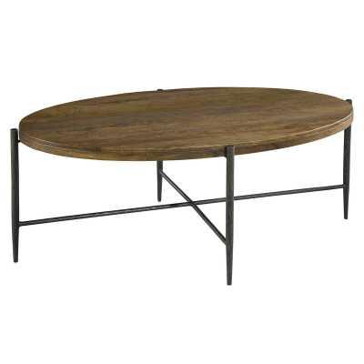 Hekman Oval Coffee Table - Perigold