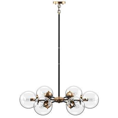 Shontelle 6 - Light Sputnik Sphere Chandelier - AllModern