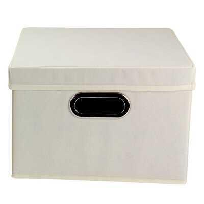 Storage Bin with Lid - Wayfair