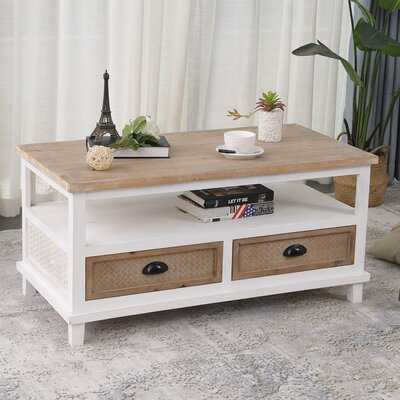 Jeanetta Coffee Table with Storage - Wayfair
