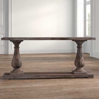 "Jarrell 71"" Solid Wood Console Table - Wayfair"
