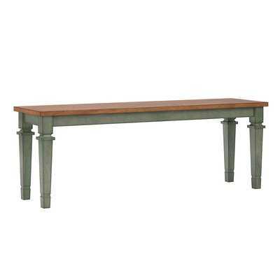 Leduc Wood Bench - Wayfair