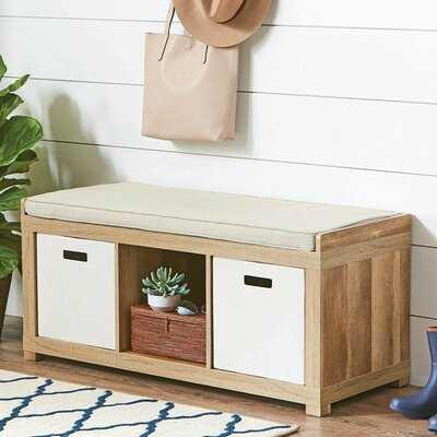 Aroon Cubby Storage Bench - Wayfair