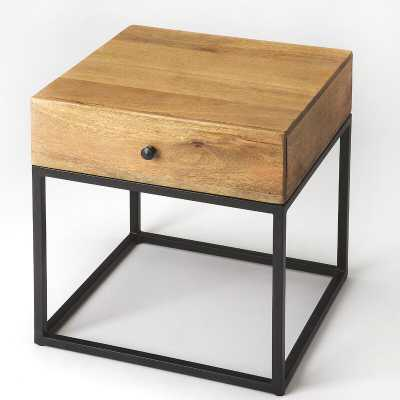 Hutchinson End Table with Storage - Perigold