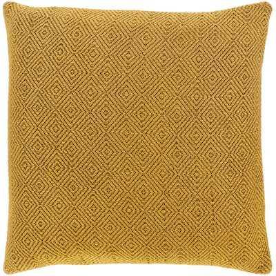 Haskins Cotton Geometric 20'' Throw Pillow Cover - Wayfair
