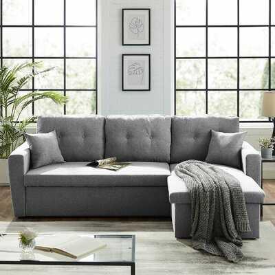 "86.6"" Reversible Sleeper Sofa & Chaise - Wayfair"