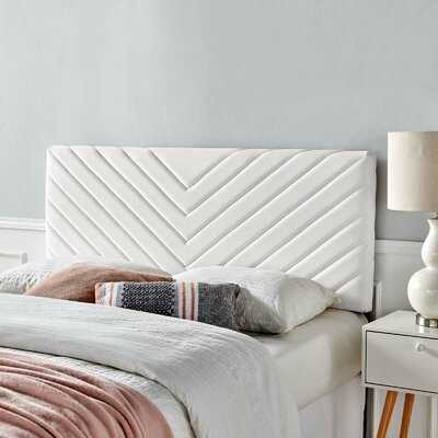 Colvard Upholstered Panel Headboard - Wayfair