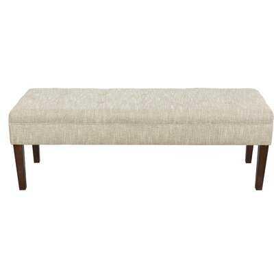 Checo Upholstered Bench - Wayfair