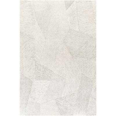 Gray/Ivory Area Rug - Wayfair