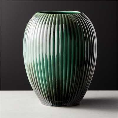 Clemence Green Vase - CB2