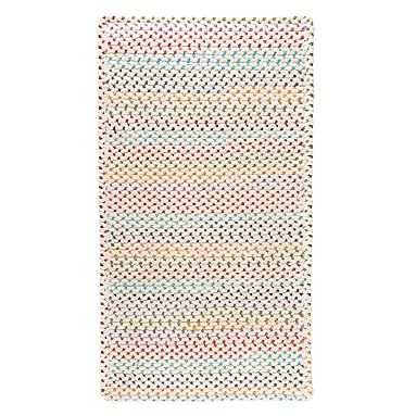 Rainbow Dot Braided Performance Reversible Rug, 3X5, Rainbow Multi - Pottery Barn Teen