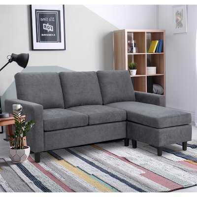 77.55'' Square Arm Sofa Chaise - Wayfair