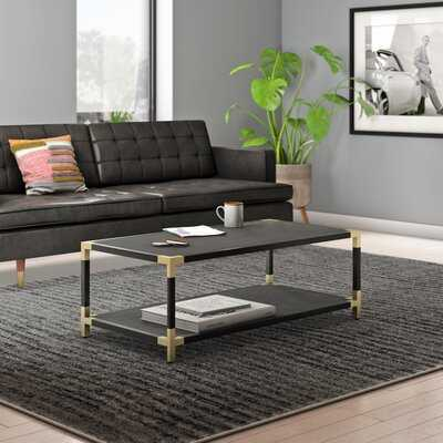 Ellington Contemporary Coffee Table with Tray Top - AllModern