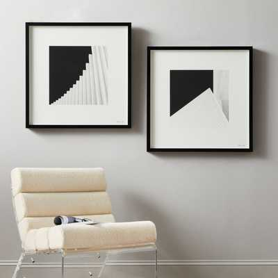 Angles Painting Set of 2 - CB2