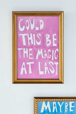Could This Be the Magic Wall Art By Artfully Walls in Pink Size S - Anthropologie