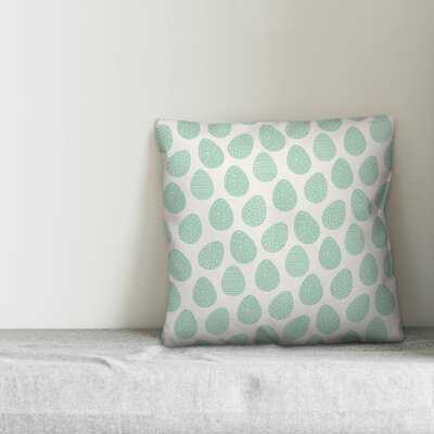 Margene Easter Egg Pattern Throw Pillow - Wayfair