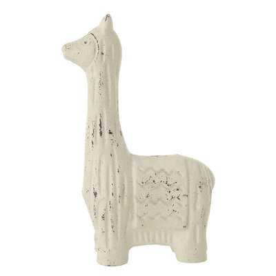 Vosdan Cast Iron Llama Figurine - Wayfair