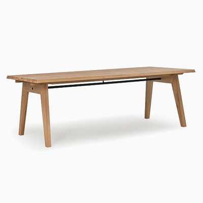 Randall Expandable Dining Table Brushed Oak - West Elm